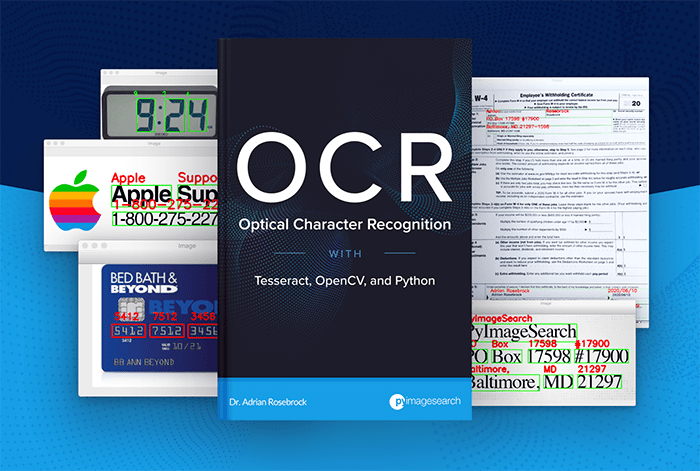 Optical Character Recognition (OCR), OpenCV, and Tesseract